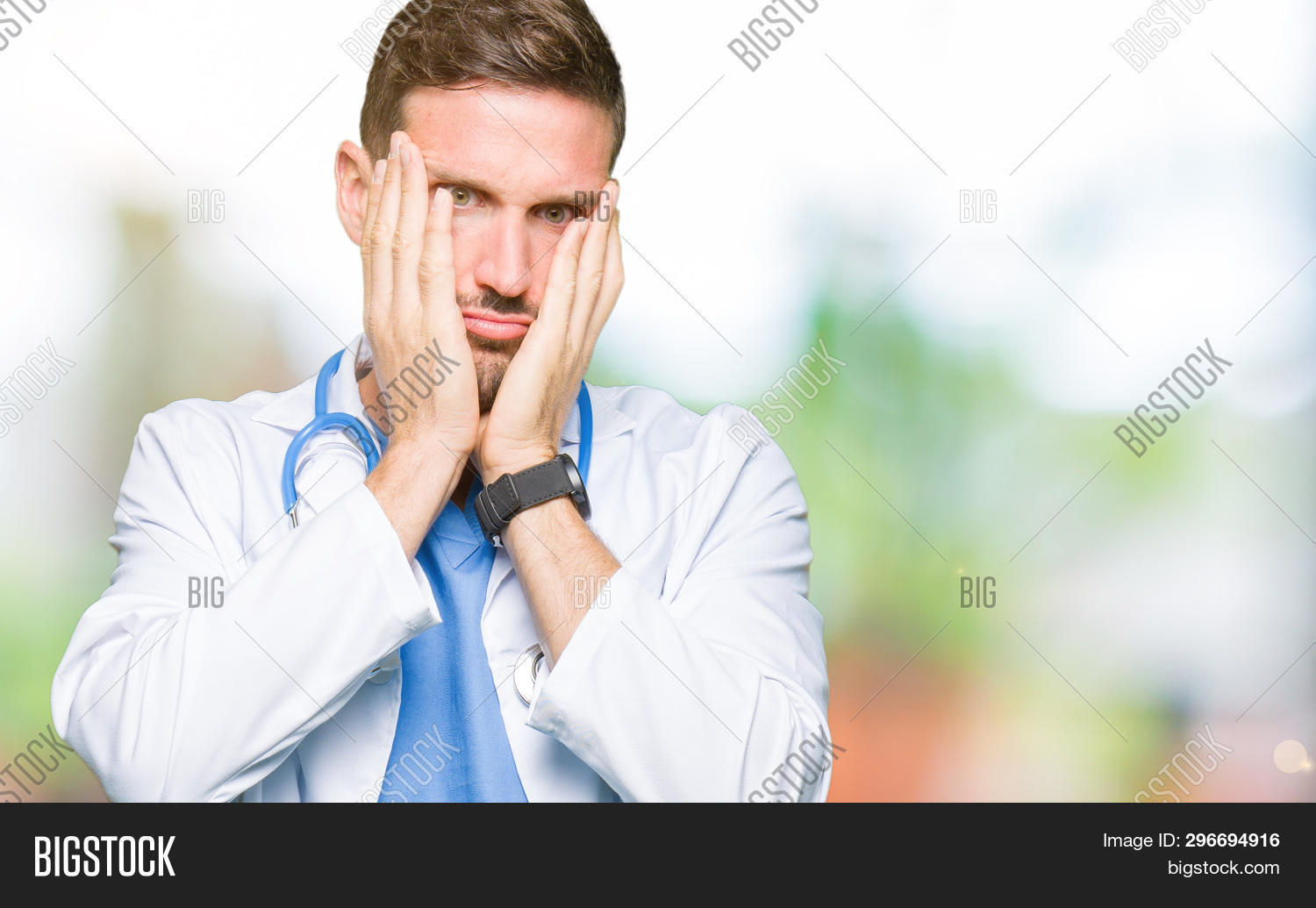 Handsome Doctor Man Image & Photo (Free Trial)   Bigstock