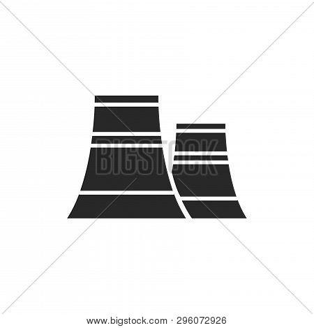 Power Plant Icon Isolated On White Background. Power Plant Icon In Trendy Design Style. Power Plant