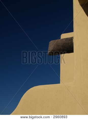 Pueblo Stucco Wall