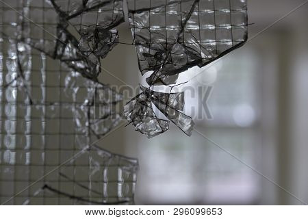 Broken Security, Armed Glas With The Steel Visible