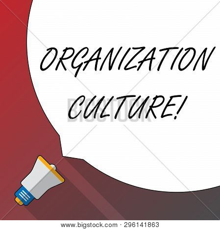 Handwriting Text Organization Culture. Concept Meaning Social And Psychological Environment Of An Or