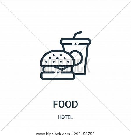 Food Icon Isolated On White Background From Hotel Collection. Food Icon Trendy And Modern Food Symbo
