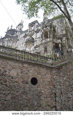 Palace Quinta De La Regaleira Historical Center Unesco Heritage Built By Carvalho Monteiro In The Se