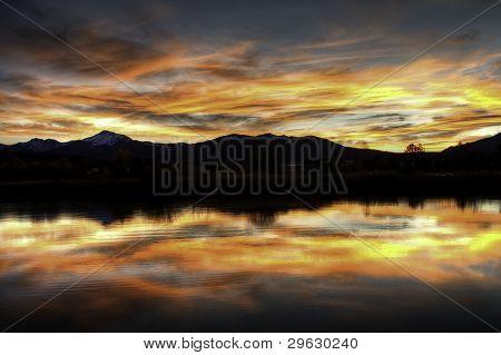Fraser Colorado Sunset