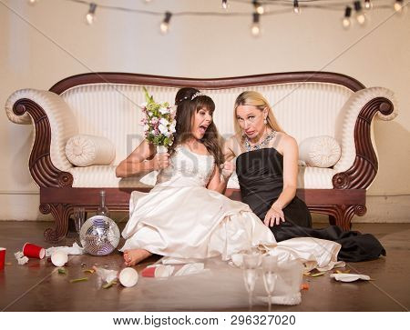 Friend Embarrassed By Angry Bride At A Wedding