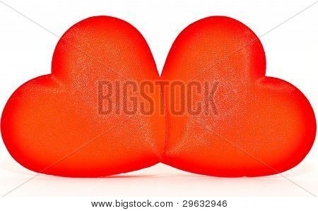 Red Hearts! classical love symbol