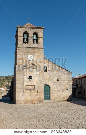 Portuguese Church And Bell Tower From The 17th Century At Freixo Do Numao. Council Of Vila Nova De F