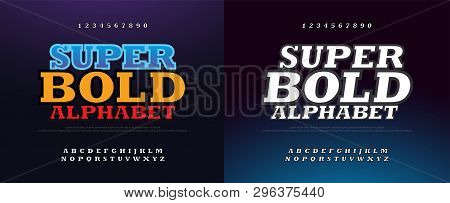 Modern Bold Font 3d Vector & Photo (Free Trial) | Bigstock