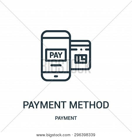 Payment Method Icon Isolated On White Background From Payment Collection. Payment Method Icon Trendy
