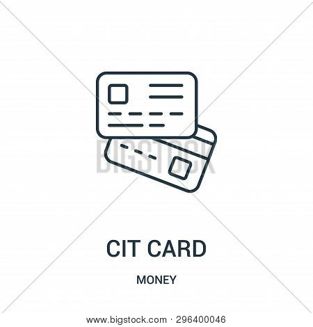 Credit Card Icon Isolated On White Background From Money Collection. Credit Card Icon Trendy And Mod