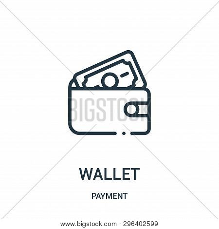 Wallet Icon Isolated On White Background From Payment Collection. Wallet Icon Trendy And Modern Wall