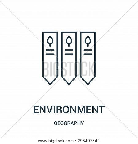 Environment Icon Isolated On White Background From Geography Collection. Environment Icon Trendy And