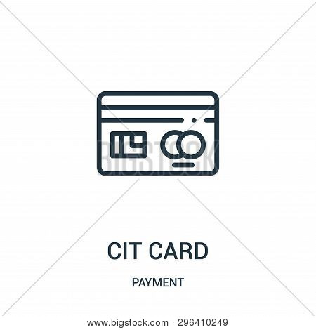 Credit Card Icon Isolated On White Background From Payment Collection. Credit Card Icon Trendy And M