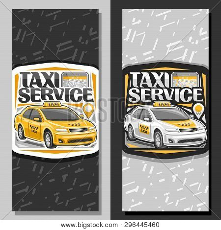 Vector Banners Taxi Vector & Photo (Free Trial) | Bigstock