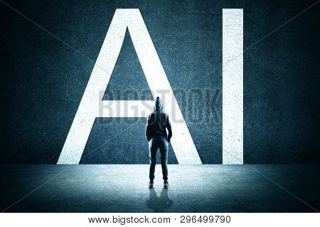 Artificial Intelligence And Malware Concept