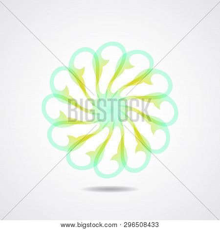 Abstract Symbol Vector. Abstract Ornament. Abstract Logo Or Icon Template