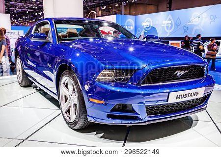 Mustang Car Emblem And Brand Logo