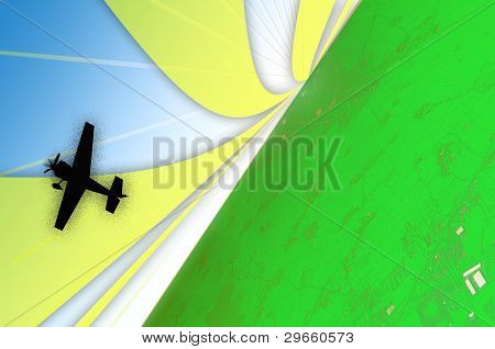 Green Aviation Sunrise