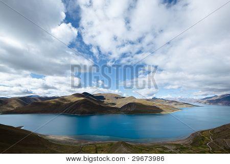 tibet: yamdrok yumtso