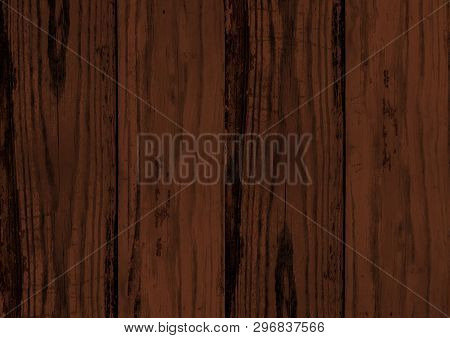 Dark Brown Wood Texture Backdrop Wall Background