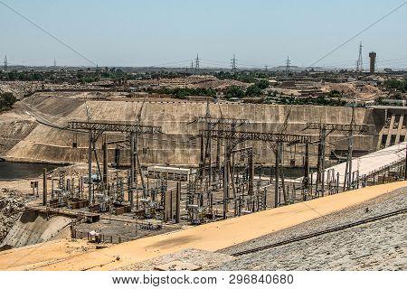 Aswan Dam - Aswan Hydroelectric Power Station And Nasser Lake, Egypt