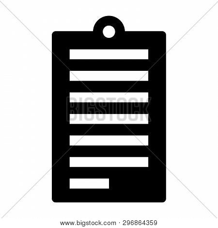 Notepad Icon Isolated On White Background, Notepad Icon Trendy And Modern,  Notepad Vectore Symbol F