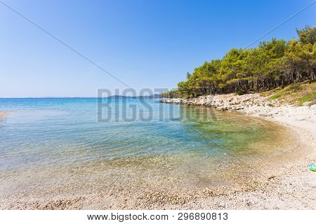 Pine Beach, Pakostane, Croatia, Europe - Visiting The Turquoise Bay Of Pakostane