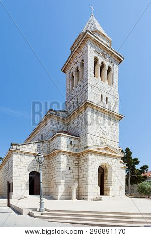 Pakostane, Croatia, Europe - Beautiful Old Church Architecture At Pakostane