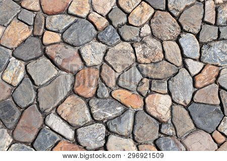 Texture of ancient paving stone