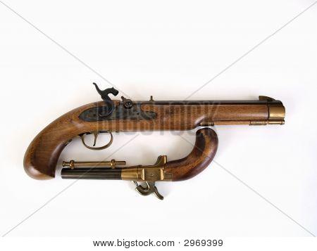 Black Powder Pistol Pair