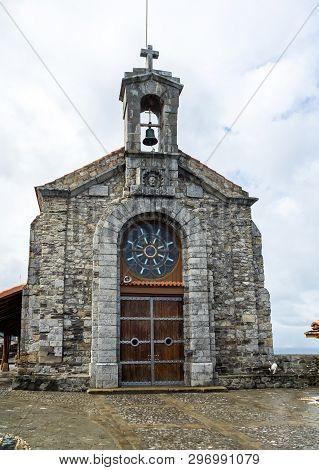 Bermeo, Basque Country, Spain: Monastery Of San Juan De Gaztelugatxe On An Islet On The Coast Of Bis