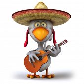 Mexican chicken poster