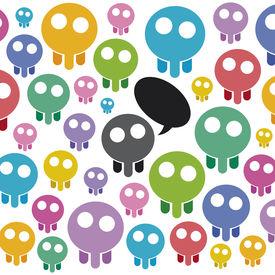 Manifestation of skulls