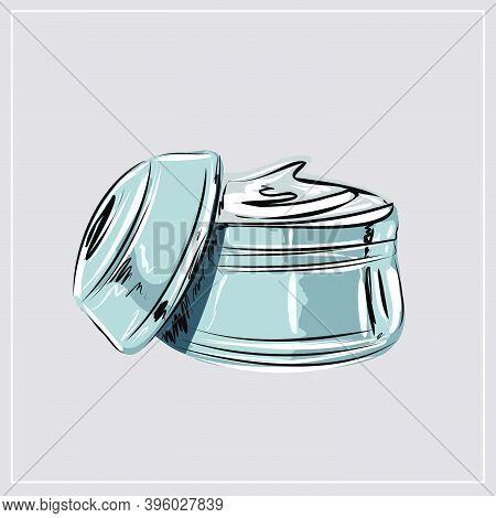 Moisturizer, Nourishing Cream, Beauty. Beauty Shop, Beauty Box. A Set Of Decorative And Care Cosmeti
