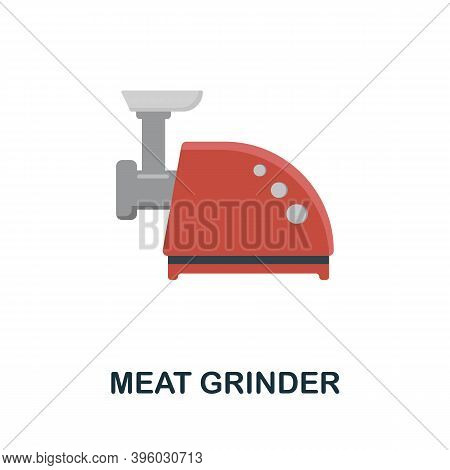 Meat Grinder Icon. Simple Element From Kitchen Appliances Collection. Creative Meat Grinder Icon For