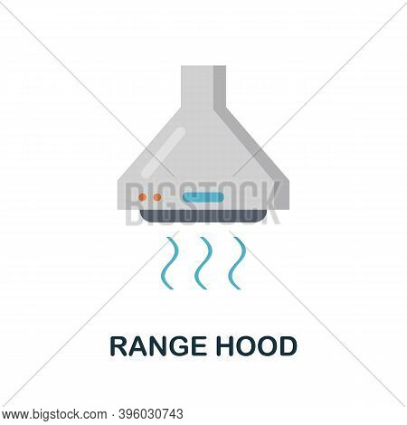 Range Hood Icon. Simple Element From Kitchen Appliances Collection. Creative Range Hood Icon For Web