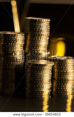 Gold Bars! Money And Financial
