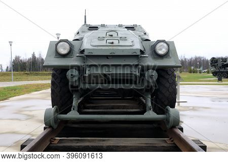 Railway Armored Personnel Carrier Btr40A