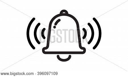 Notification Icon Vector, Material Design, Social Media Element, Notice Illustration. New Message. B