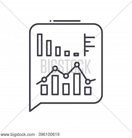 Enterprise Technology Icon, Linear Isolated Illustration, Thin Line Vector, Web Design Sign, Outline