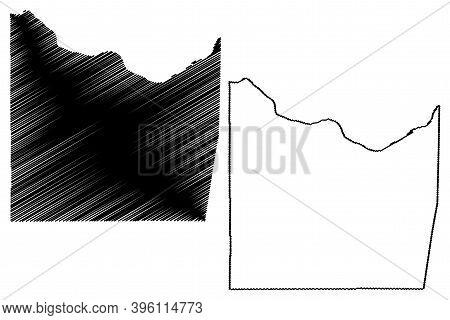 Franklin County, Missouri (u.s. County, United States Of America, Usa, U.s., Us) Map Vector Illustra