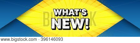 Whats New Symbol. Modern Background With Offer Message. Special Offer Sign. New Arrivals Symbol. Bes