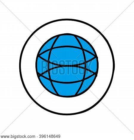 Globe Icon Isolated On White Background, Globe Icon Vector, Globe Icon, Globe Icon Picture, Globe Ic