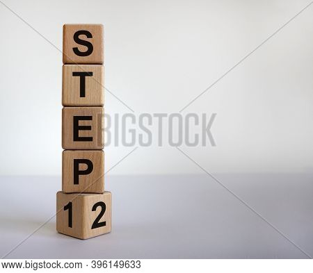 Step By Step. Time To Step 2. Turned A Cube And Changed The Expression 'step 1' To 'step 2'. Beautif