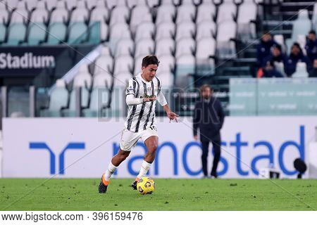 Torino, Italy. 21th November 2020. Paulo Dybala Of Juventus Fc In Action During The Serie A Match  B
