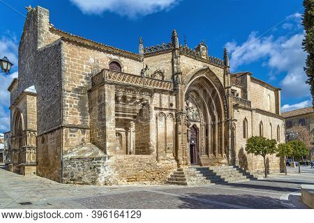 The Church Of San Pablo Is One Of The Oldest In Ubeda, Spain. It Is Believed To Have Been Built Sinc