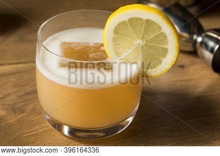 Boozy Refreshing Egg White Whiskey Sour
