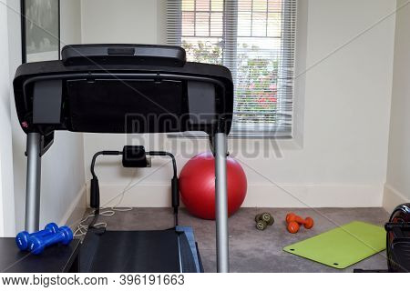 Running Machine And Gym Equipment For Keeping Fit At Home