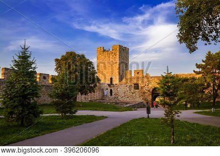 Kalemegdan fortress Beograd - Serbia - architecture travel background