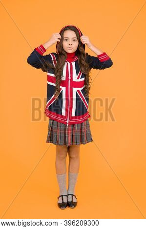Learn English Language. Girl School Uniform. English Student. Education And Upbringing. Language Sch